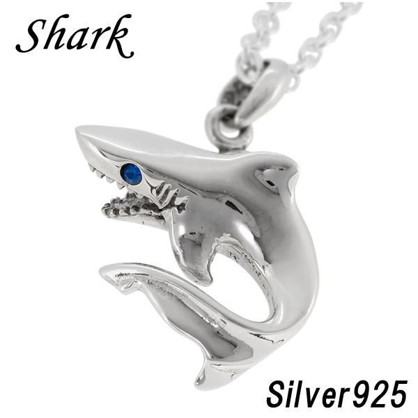 Shinjuku gin no kura rakuten global market shark silver mens womens pendant necklace shark shinjuku silver collection shark silver 925 blue zirconia necklace aloadofball Gallery