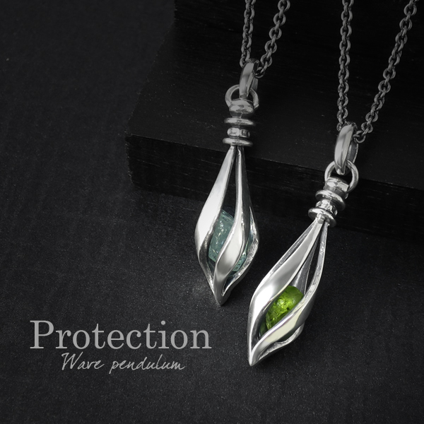 Aquamarine Peridot sharp silver necklace mens necklace silver pendant  Silver 925 Silver men's Necklaces Pendants men's Necklace points 10 times