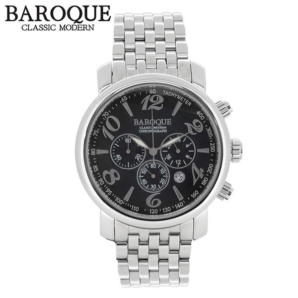 BAROQUE 腕時計 ブランド ウォッチ GENIO BA1005S-02M 時計 メンズ アクセサリー ファッション カジュアル バロック メンズ腕時計 人気腕時計 ブランド時計 プレゼント おしゃれ