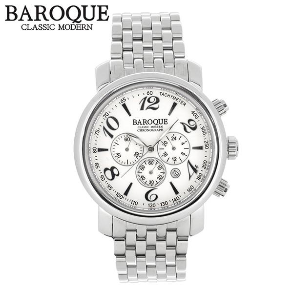 BAROQUE 腕時計 ブランド ウォッチ GENIO BA1005S-04M 時計 メンズ アクセサリー ファッション カジュアル バロック メンズ腕時計 人気腕時計 ブランド時計 プレゼント おしゃれ
