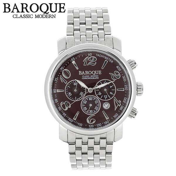 BAROQUE 腕時計 ブランド ウォッチ GENIO BA1005S-15M 時計 メンズ アクセサリー ファッション カジュアル バロック メンズ腕時計 人気腕時計 ブランド時計 プレゼント おしゃれ