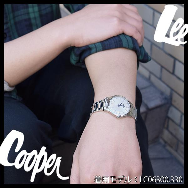 Lee Cooper 腕時計 ブランド ウォッチ LC06300.490 リークーパー 時計 メンズ 紳士 ネイビー かっこいい クォーツ ステンレスベルト クラシック ビジネス カジュアル ビジカジ イギリス ブリティッシュ 日本製ムーブメント 電池式 人気 プレゼント 彼氏 おしゃれ