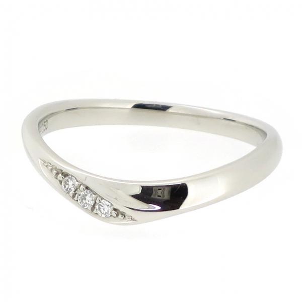 シンプル プラチナリング モード ウェーブ ペア 結婚指輪 婚約指輪 ブライダル プラチナ950 ハードプラチナ ダイヤモンド ダイアモンド ジュエリー リング 指輪 ペアアクセサリー お揃い カップル レディース 女性 アクセサリー ギフト プレゼント おしゃれ