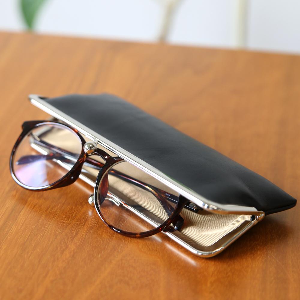 がま口 眼鏡ケース メガネ入れ ペンケース TOKYO GA-MA 紗蔵 SAKURA WAQS【京都ぎんやんま】