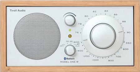 【メールマガジン希望ご選択で5%OFF!】Tivoli Audio(チボリ オーディオ) Model One BT チェリー/シルバー Bluetooth対応