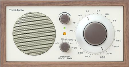 【メールマガジン希望ご選択で5%OFF!】 Tivoli Audio(チボリ オーディオ) Model Two クラシックウォールナット/ベージュ
