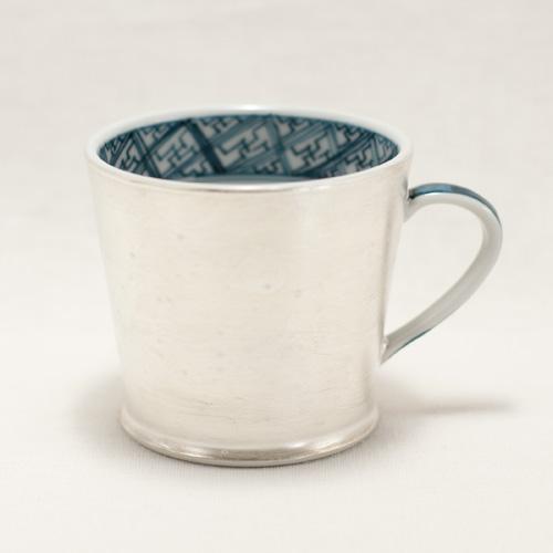 銀彩 マグカップ〔幸之介窯〕