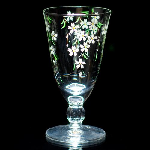 Wine glass ( weeping cherry tree ) [Yagi Ocean peak]