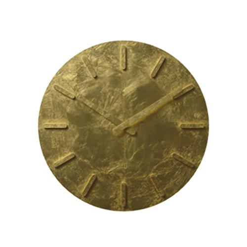 ±0 プラスマイナスゼロ ウォールクロック X020金箔仕様 (壁掛け時計)(プラマイゼロ)