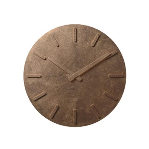 ±0 プラスマイナスゼロ ウォールクロック X020銅箔仕様 (壁掛け時計)(プラマイゼロ)