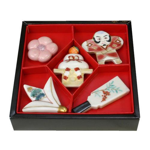 清水焼 京焼 箸置 京のお正月