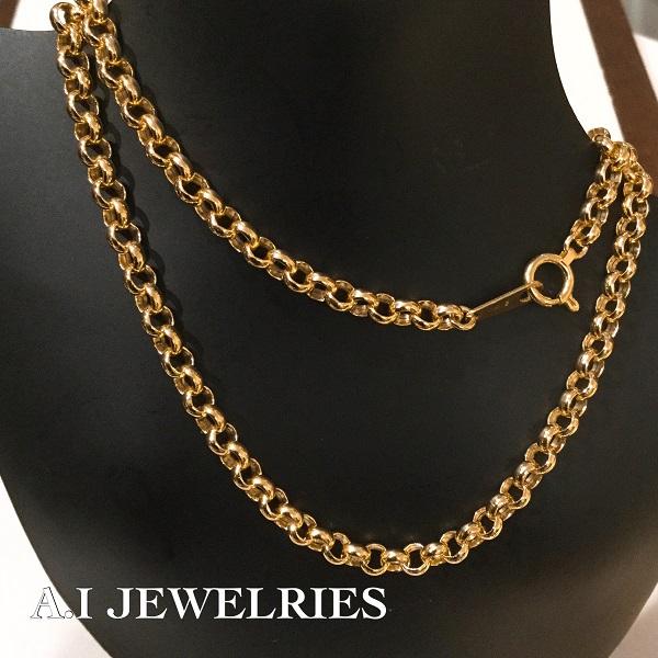 K18 ロロ ネックレス 40cm レディース K18 roro necklace 40cm