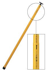 SK逆目盛検測桿 AT-8m(軽量タイプ・8本継)