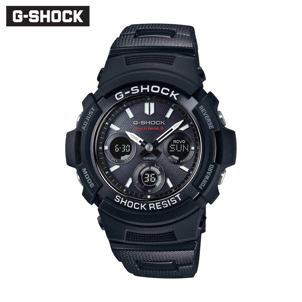 ジーショック 腕時計 メンズ AWG-M100SBC-1AJF 記念日 正規品 G-SHOCK CASIO Gショック トラスト カシオ