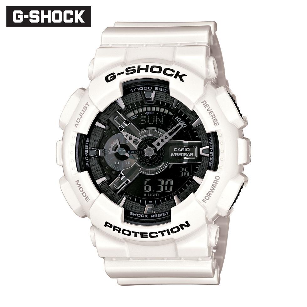 キャンペーン 正規品 G-SHOCK Gショック ジーショック GA-110GW-7AJF ホワイト&ブラックシリーズ 腕時計 時計 メンズ