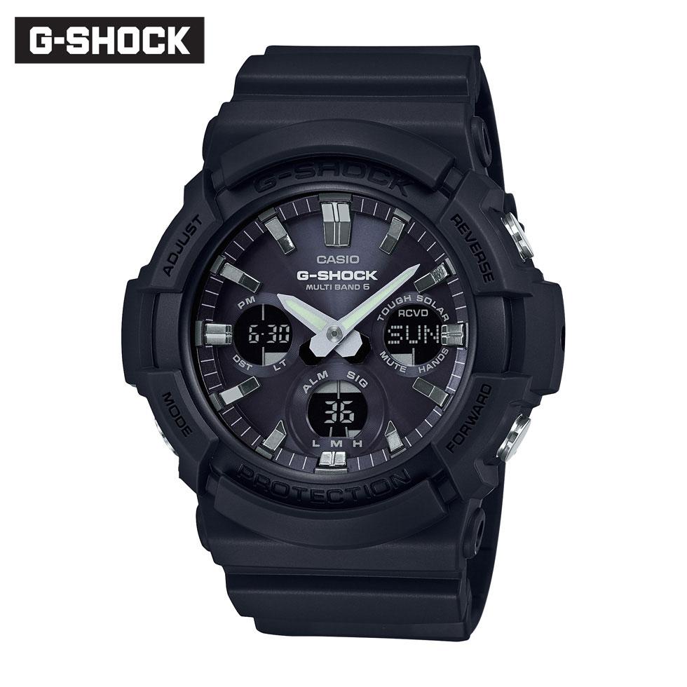 キャンペーン 正規品 G-SHOCK Gショック ジーショック GAW-100B-1AJF 電波ソーラー 腕時計 時計 メンズ
