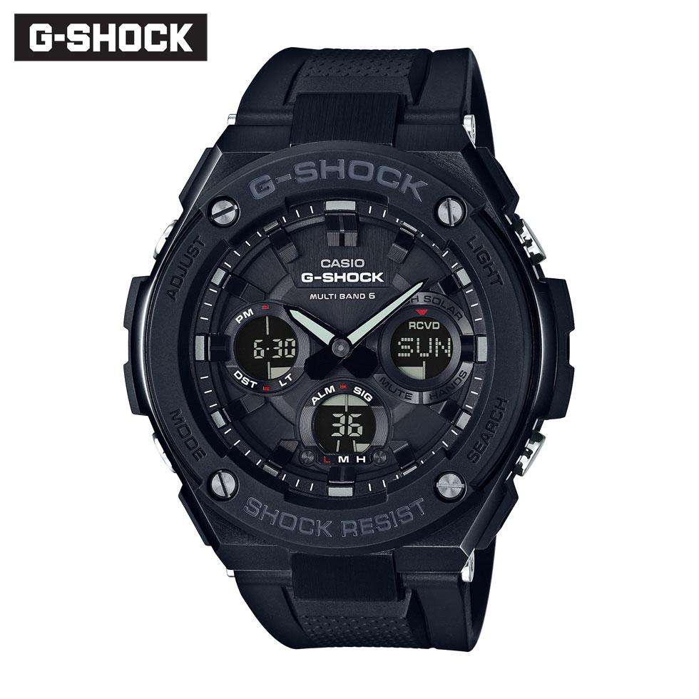 キャンペーン 正規品 G-SHOCK Gショック ジーショック GST-W100G-1BJF Gスチール 腕時計 時計 ソーラー 電波時計 メンズ