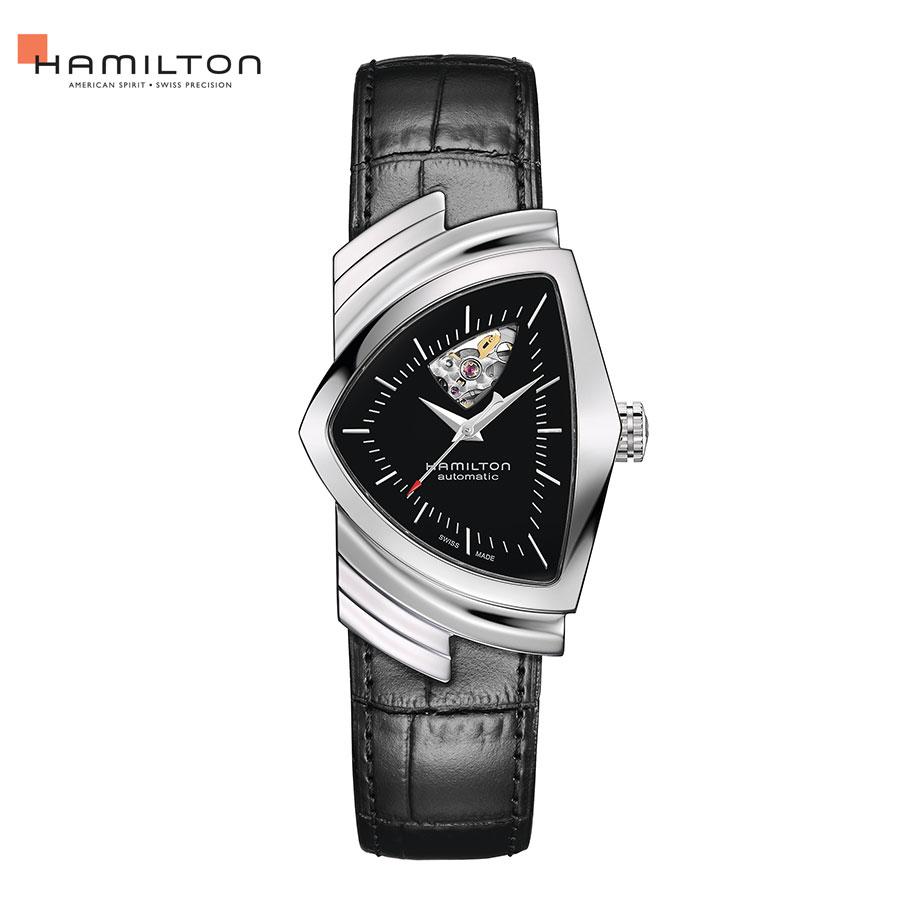 H24515732 ハミルトン 自動巻 腕時計 オート ベンチュラ オープンハート メンズ HAMILTON