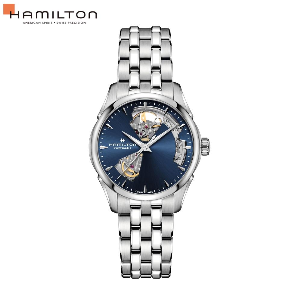 オープンハート レディース H32215141 HAMILTON オート ユニセックス 自動巻 ジャズマスター 腕時計 メンズ ハミルトン 36mm