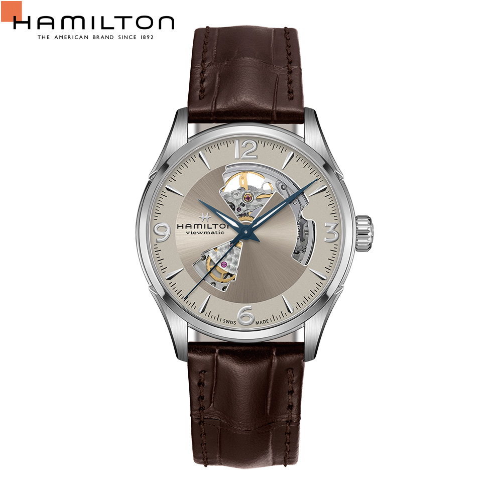 自動巻 H32705521 ハミルトン HAMILTON メンズ オープンハート ジャズマスター 腕時計
