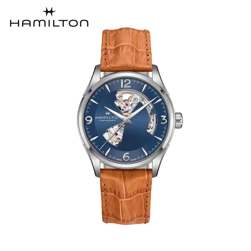 クーポン 自動巻 ハミルトン Hamilton 腕時計 メンズ ジャズマスター オープンハート H32705541