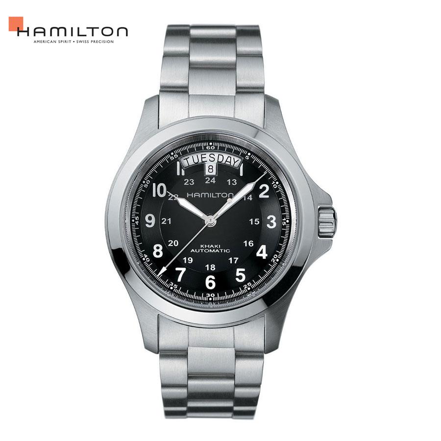 自動巻 ハミルトン Hamilton 腕時計 メンズ カーキ キング オート H64455133