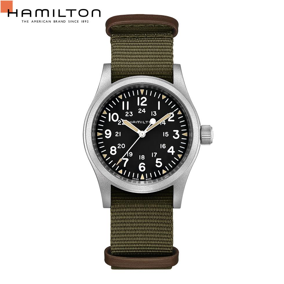 機械式 ハミルトン Hamilton 腕時計 メンズ カーキ フィールド メカニカル H69439931