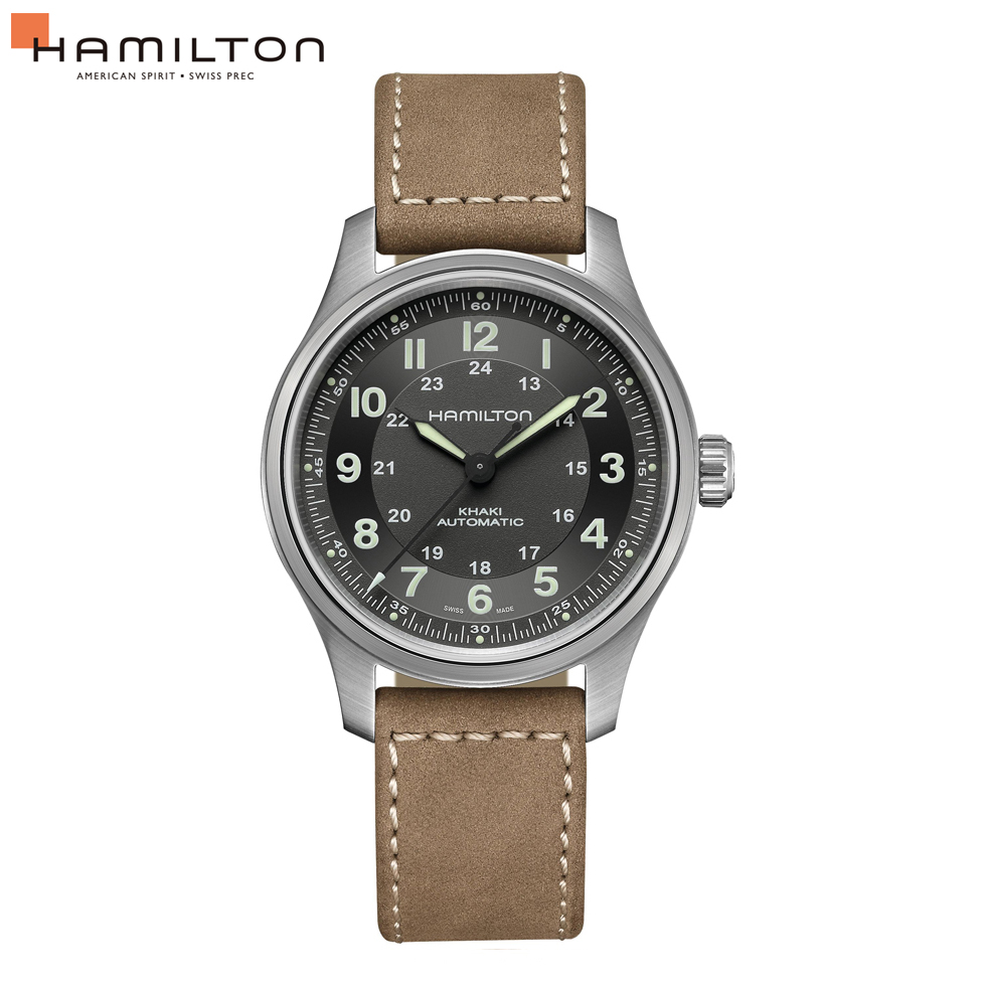 HAMILTON H70545550 自動巻 カーキ チタニウムオート 腕時計 フィールド メンズ ハミルトン
