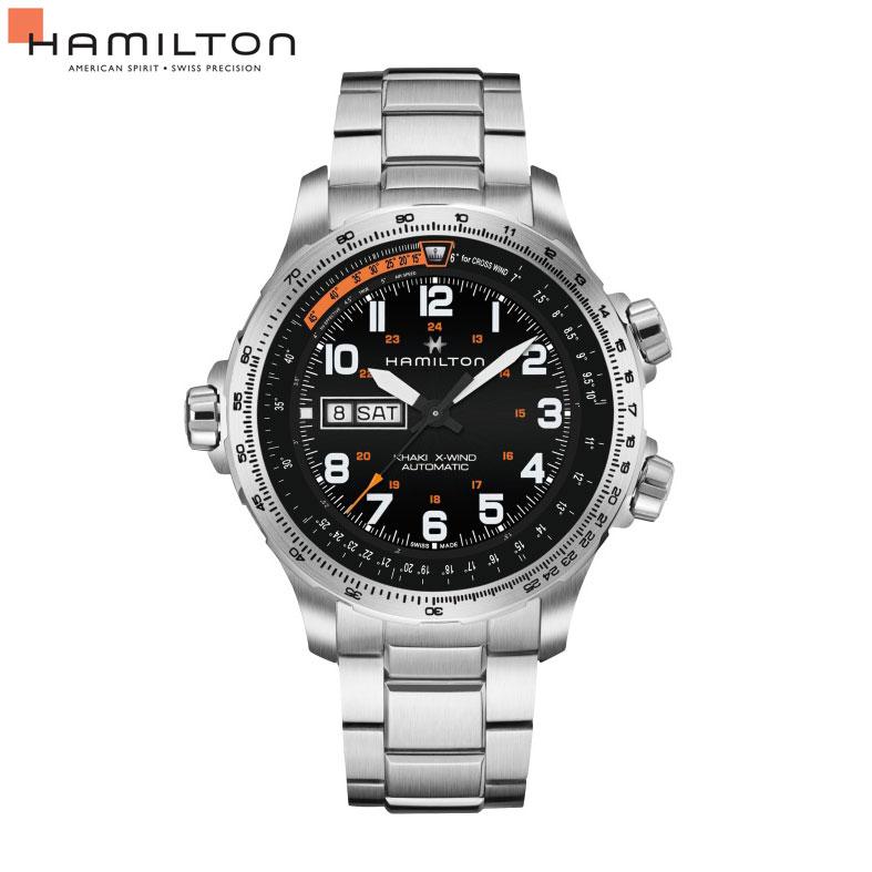 自動巻 ハミルトン Hamilton 腕時計 メンズ カーキ X-ウィンド H77755133