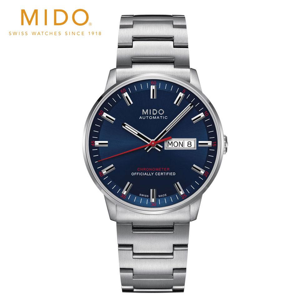正規品 MIDO ミドー 自動巻 コマンダーII COSC M0214311104100 送料無料 腕時計 時計 プレゼント ギフト 贈り物 包装 ラッピング お祝い 祝い 誕生日 結婚記念日 記念日 おしゃれ メンズ 男性 夫 旦那 彼氏 息子 父