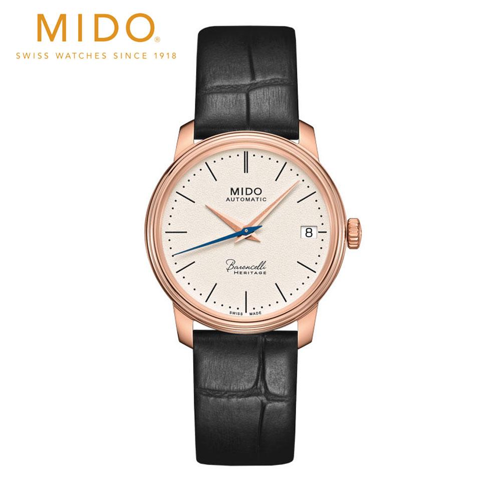 ミドー 腕時計 レディース M0272073626000 定価 正規品 自動巻 ※アウトレット品 レディ MIDO バロンチェッリ