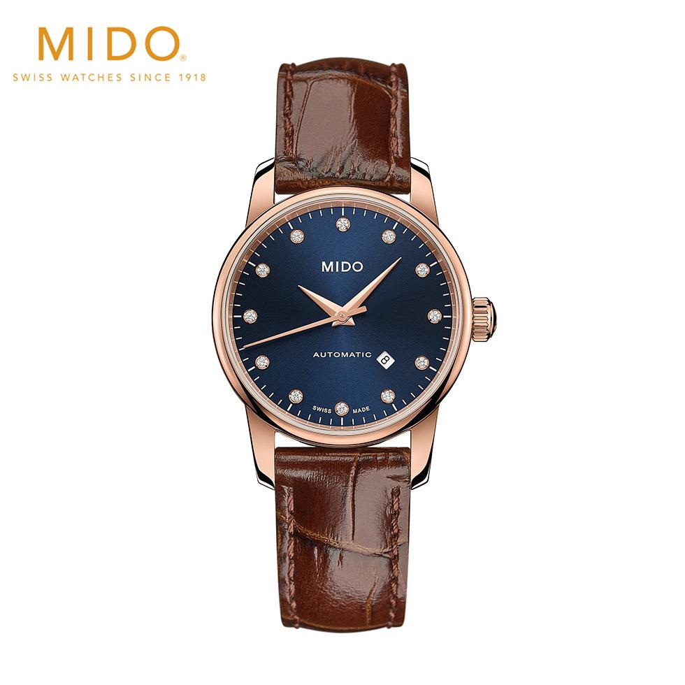 自動巻 ミドー MIDO バロンチェッリ ミッドナイトブルー レディ M76003658 腕時計 レディースMzpqVSU