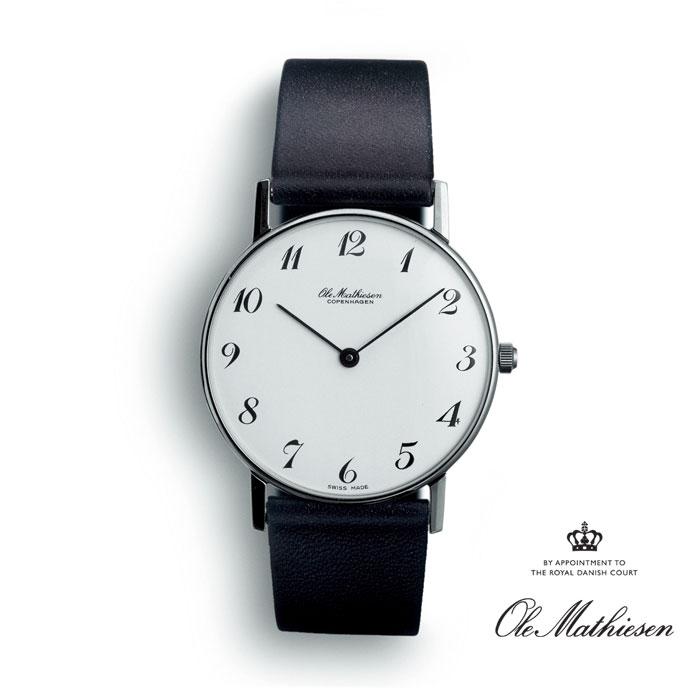 正規品 Ole Mathiesen オーレ・マティーセン オーレマティーセン OMN020011 送料無料 腕時計 時計 防水 プレゼント ギフト 贈り物 包装 ラッピング お祝い 祝い 誕生日 結婚記念日 記念日 おしゃれ メンズ 男性 夫 旦那 彼氏 息子 父