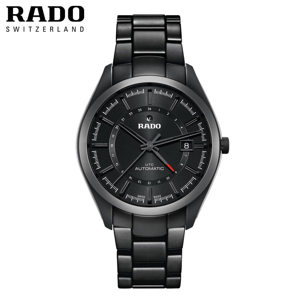 正規品 自動巻き RADO ラドー Hyparchrome ハイパークローム UTC R32167152 送料無料 腕時計 時計 防水 プレゼント ギフト 贈り物 包装 ラッピング お祝い 祝い 誕生日 結婚記念日 記念日 おしゃれ メンズ 男性 夫 旦那 彼氏 息子 父