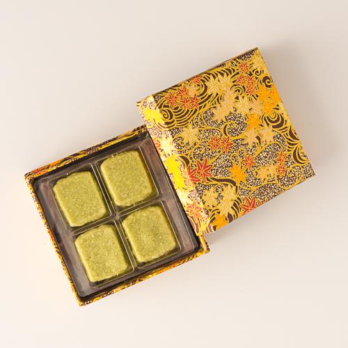 銀座ウエスト OB-M 折り紙ボックス抹茶 金箱 24枚入 新品 超激安