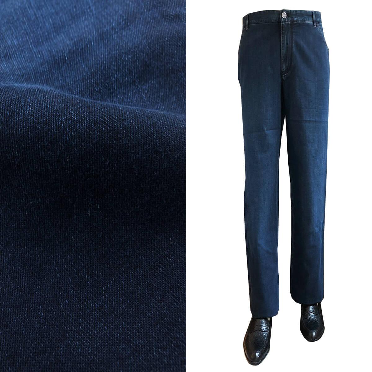 ZILLI (ジリー)パンツ ボトムス メンズ デニム ジーンズ ブランド ZILLI ジリー カジュアル ネイビー 56サイズ 大きいサイズ