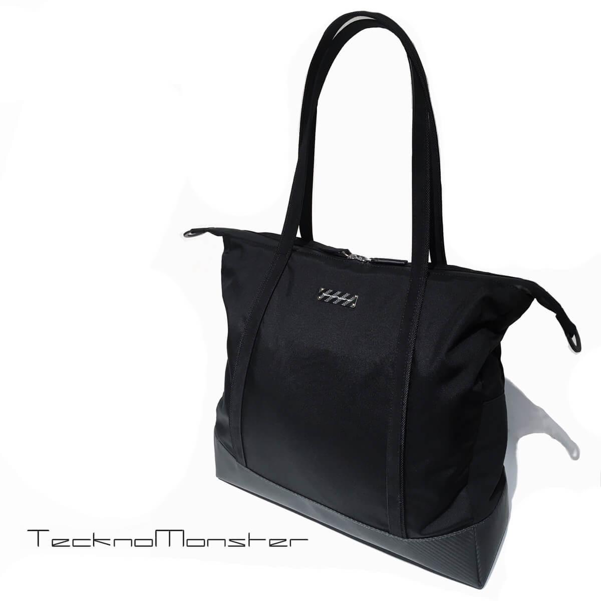 TecknoMonster (テクノモンスター)トートバッグ ブランド メンズ レディース ソフトカーボンファイバー アルカンターラ イタリア製