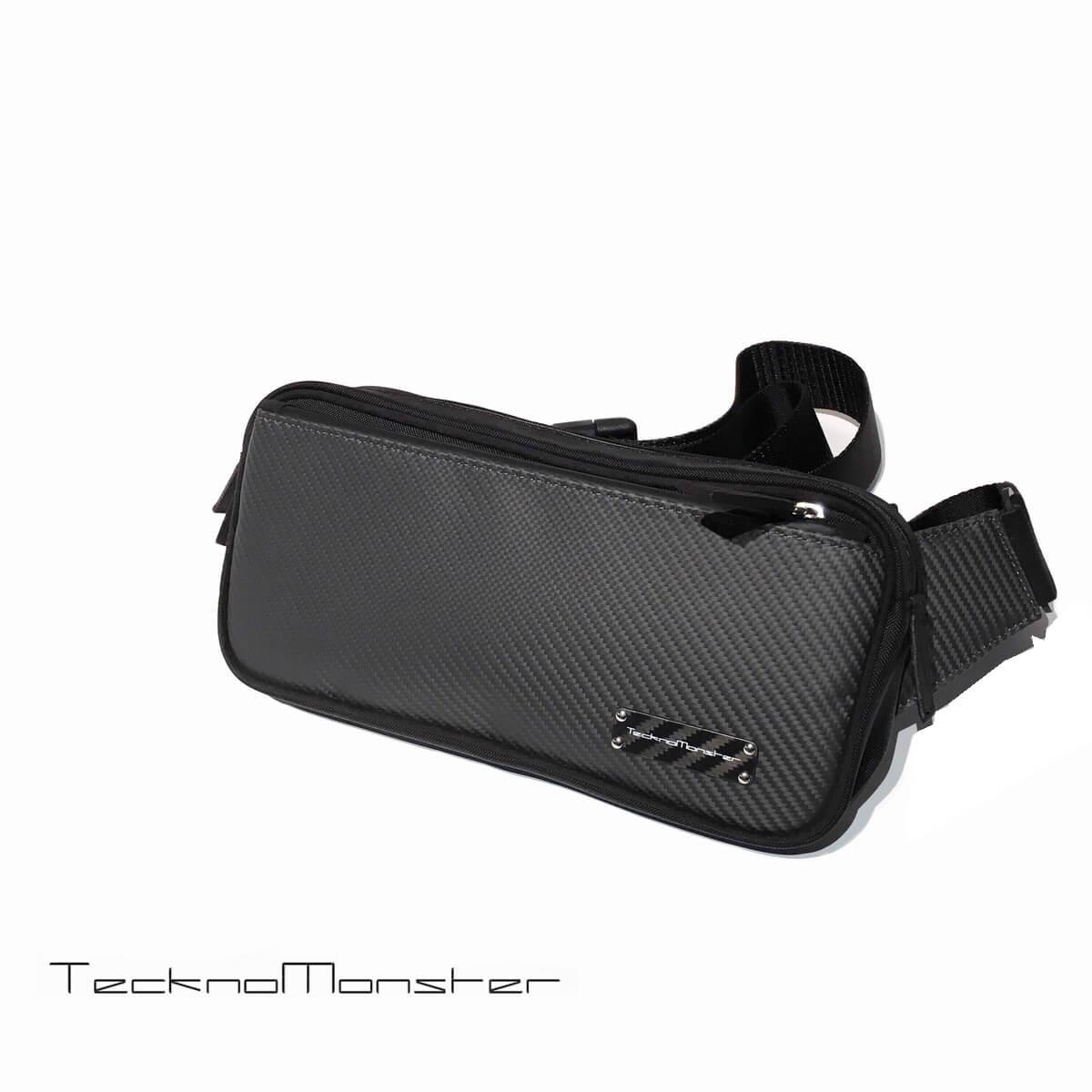 Teckno Monster (テクノモンスター)ボディバッグ ブランド メンズ レディース ソフトカーボンファイバー アルカンターラ イタリア製