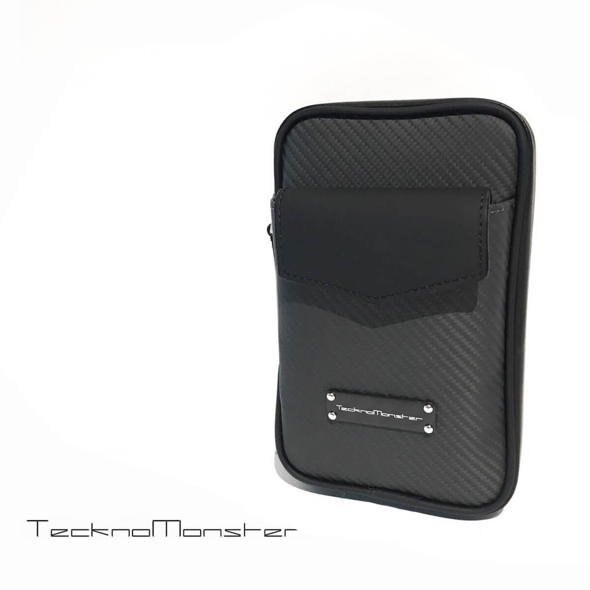 TecknoMonster (テクノモンスター)シガーケース カーボンファイバー アルカンターラ カーフレザー