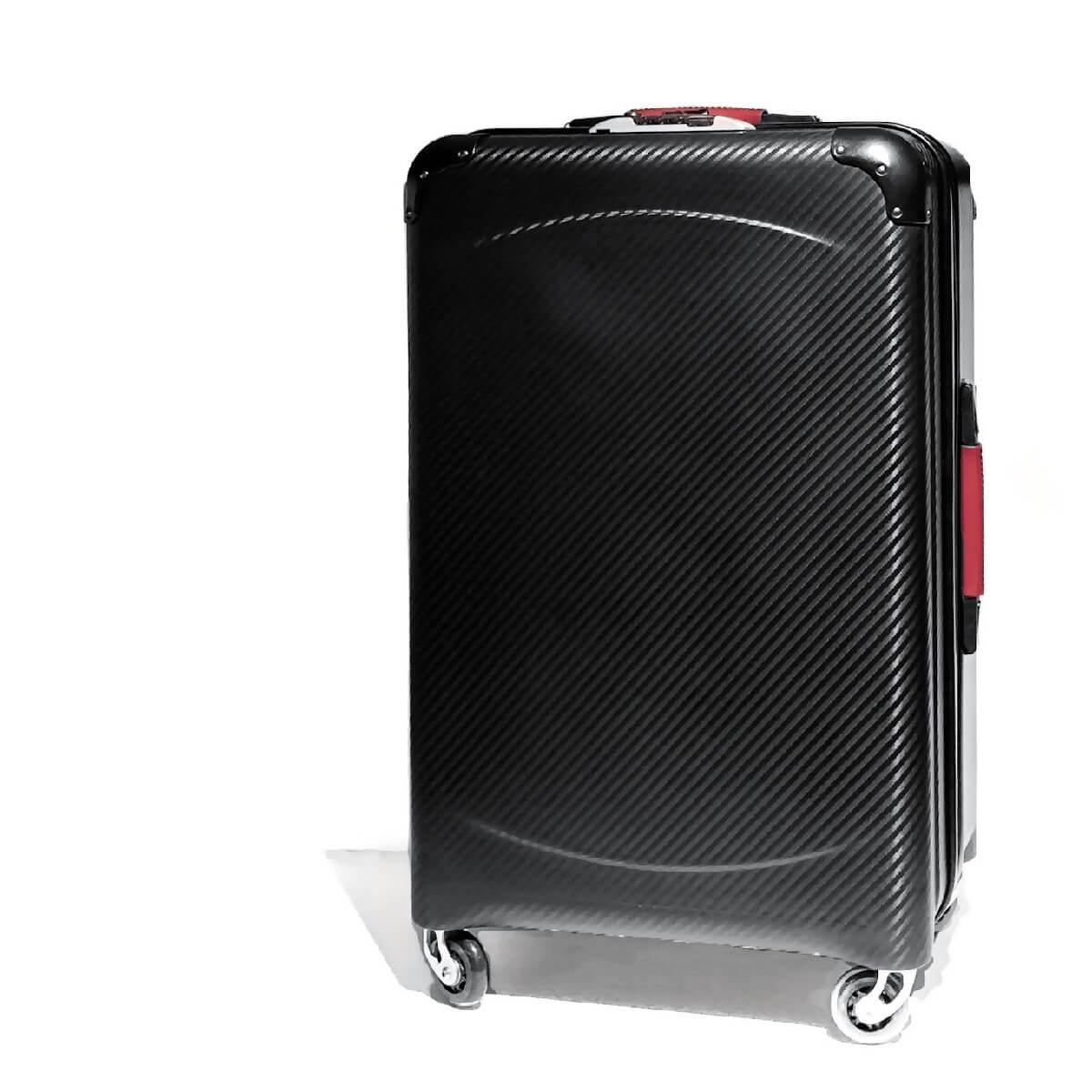TecknoMonster (テクノモンスター)キャリーバッグ スーツケース ブランド メンズ レディース ソフトカーボンファイバー イタリア製 高級 ラグジュアリー
