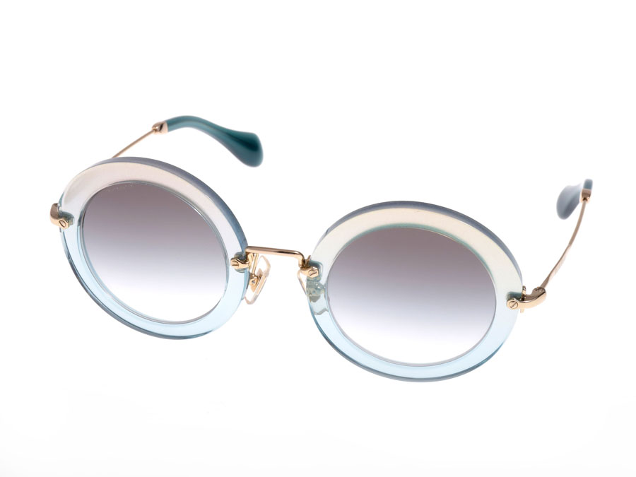 16663a02c3 Round Miu Miu MIUMIU sunglasses glasses lameframe SMU13N-