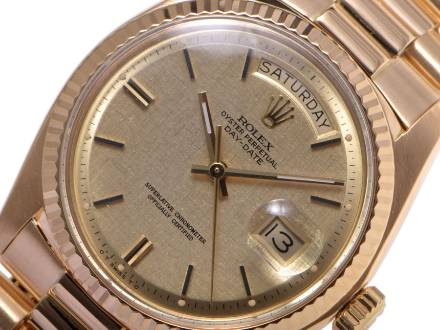 劳力士劳力士天日期手表 1803 YG 日本劳动和-