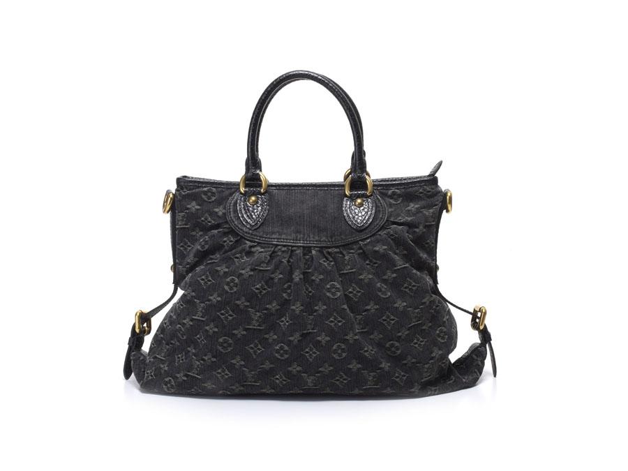 b1821d39541f Ginzo Rakuten Ichiba Shop  Louis Vuitton denim neo cabby GM M95352 ...