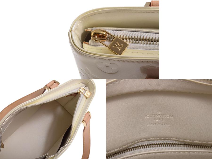 Louis Vuitton Vernis Houston M91342 Perle-