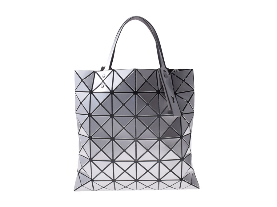 e425d15c0a4 Brand new Baobao, BAOBAO ISSEY MIYAKE LUCENT-1 tote bags 6 x 6 Silver  enamel-