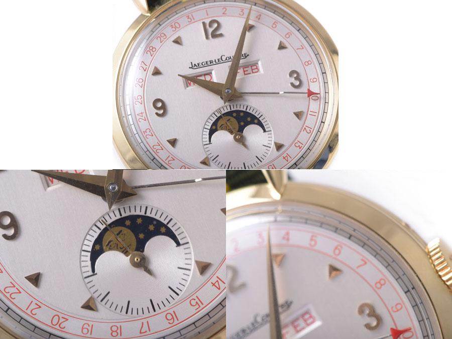 Jaeger 积 UAEGER 乐 COULTRE 月亮 150 周年纪念模型 YG 手卷唯一-