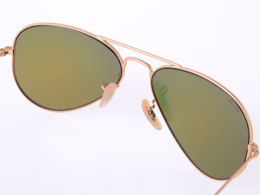 60f2ac7bd0935 ... where to buy unused ray ban rayban sunglasses aviator gold mirror lens  rb3025 28ed2 b4d57