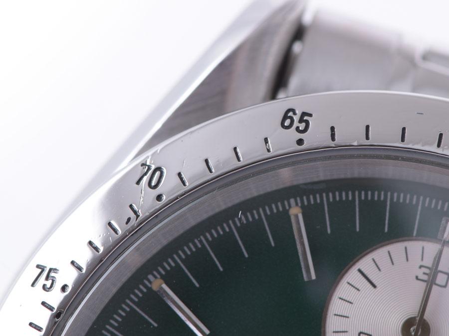 欧米茄-欧米茄速霸 3511.70 丸有限公司 SS 绿色拨号-