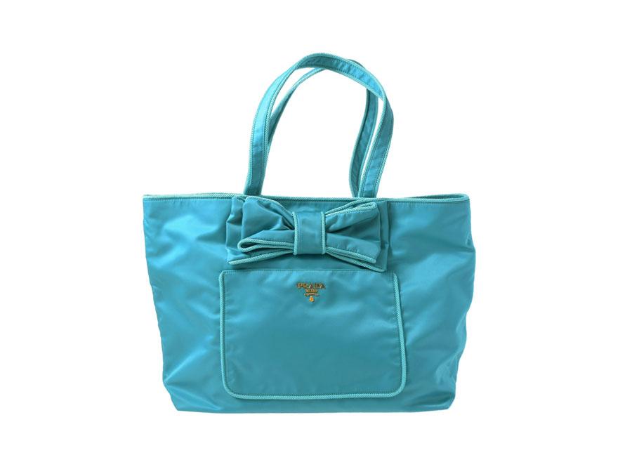 a884ae657f8f Ginzo Rakuten Ichiba Shop: Brand new Prada, PRADA tote bag Ribbon ...