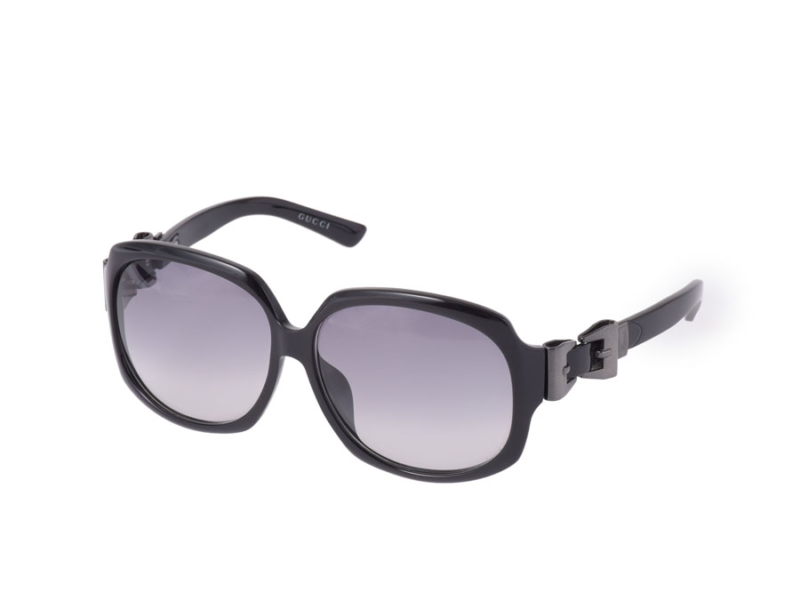 Gucci, GUCCI sunglasses side Ribbon black GG3014/F/S-